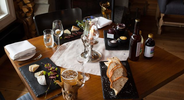 Local food, served with style at Storfjord Hotel. Evy Andersen