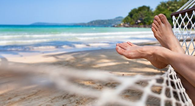 No worries, no aggravation, just plenty of time to relax and recharge our batteries. Photo: Shutterstock