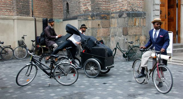 Over 80% of Copenhagen dwellers own a bike. Photo: Cenneth Sparby