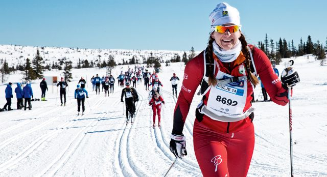 Finishing Birkebeiner may be a lonely job, but you won't be alone.