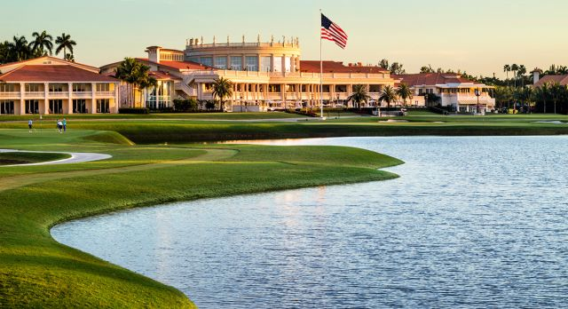 Blue Monster Trump National Doral Miami.