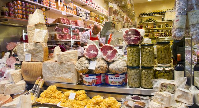 Bologna - Italy's food capital.