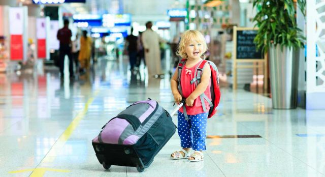 Traveling with very young children can be stressful. But it will all work out. We promise. Photo: Shutterstock