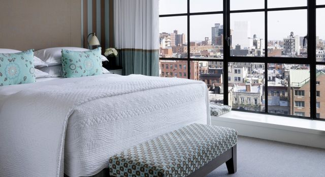 The Crosby Street Hotel in SoHo is one of Fredrik's favorite hotels in New York.