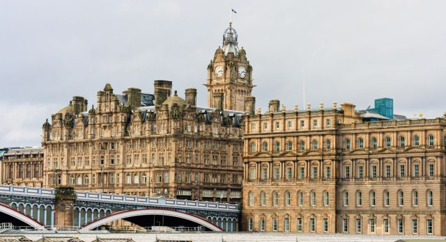 The Balmoral Hotel Photo: Shutterstock