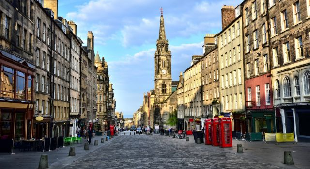 The Royal Mile Photo: Shutterstock