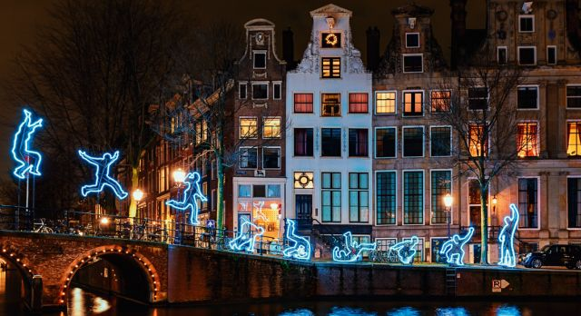 Light Festival Amsterdam Photo: Shutterstock