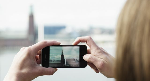 Nowadays we take as many photos every two minutes as humanity as a whole did in the 1800s. Photo: Shutterstock