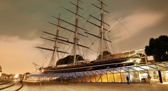 Spökskeppet Cutty Sark i London Foto: Planetpix / Alamy