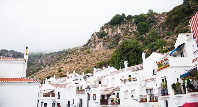 "Frigiliana is one of Andalusia's ""white villages"". Photo: Aleksandra Olejnik"