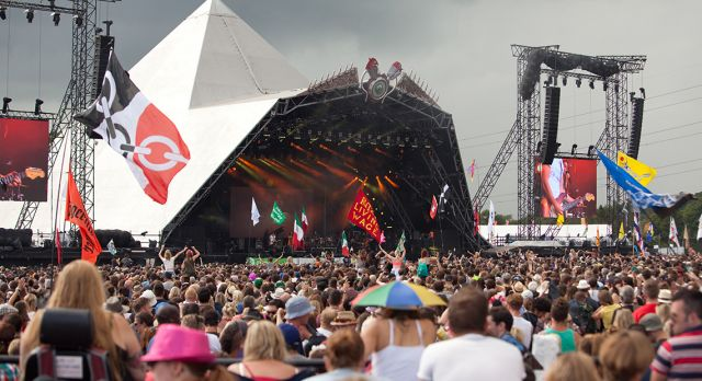 There are music festivals and then there is Glastonbury. Photo: Emma Stonner