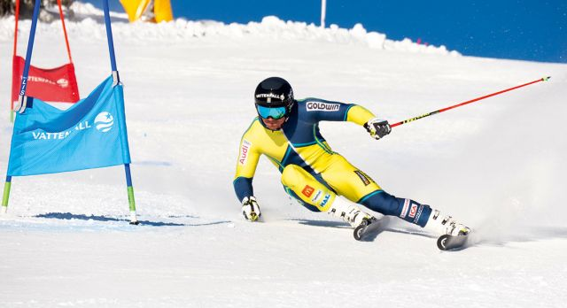 SAS and Sweden's Ski Team Alpaine has entered a partnership.