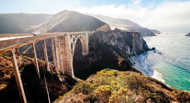 Highway One from San Francisco to Los Angeles. Photo: Shutterstock