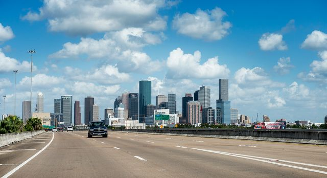 Downtown Houston. Foto: Jonas Bilberg