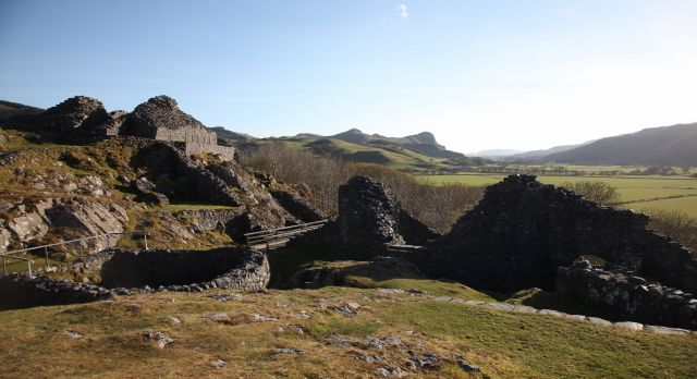 The stunning views from the ruins of Castell y Bere. Photo: Andrew Blackwell