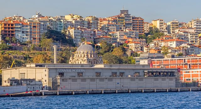 Istanbul Modern with it's stunning views of the Bosphoros and the old town. Photo: Shutterstock