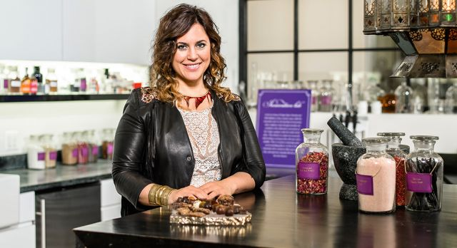 Katrina Markoff, luxury chocolatier. Photo: Scott Thompson