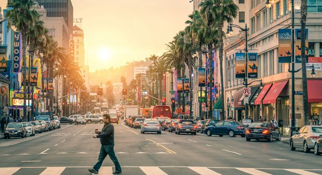 The vast city of Los Angeles is best experienced one characterful neighborhood at a time. Photo: Shutterstock