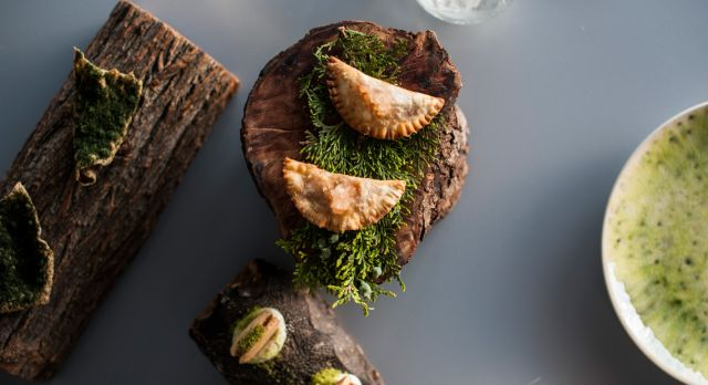 Beautiful plates from Sollo Photo: Aleksandra Oljenik