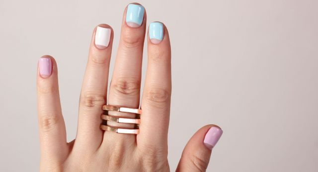 Pastels for your nails? Photo: Shutterstock