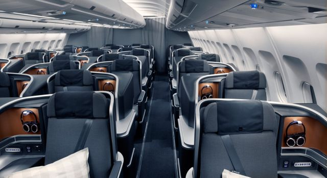 Every one of SAS aircraft in the long-haul fleet is now upgraded to the new cabin.