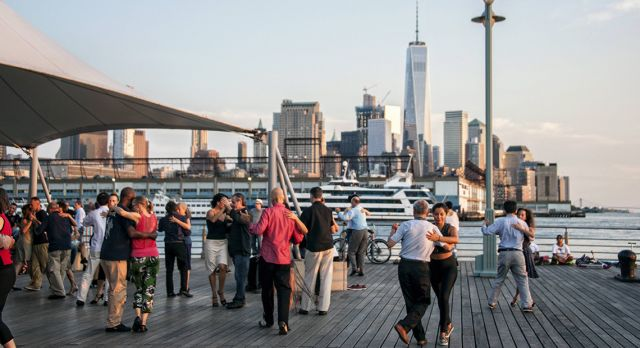 Helena Christensen loves the Hudson River park and piers. Photo: Shutterstock