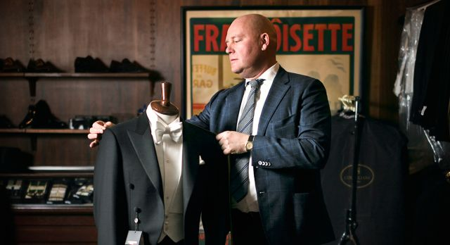 Every year, Lars Allde prepares about 120 outfits for the Nobel Prize winners and their families. Photo: Anna Bergkvist