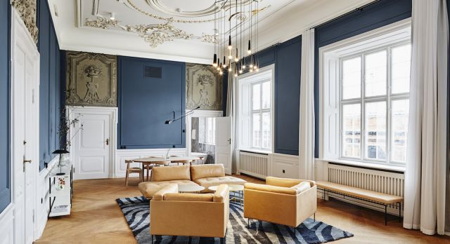 Hotel Nobis Copenhagen is a great mix of classic Copenhagen and modern design. Photo: Nobis