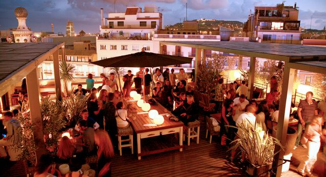 Bar Terraces Of Barcelona Scandinavian Traveler