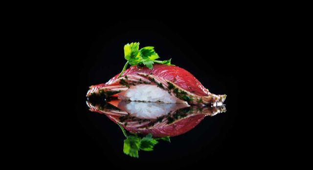 Sushi restaurant Sabi Omakase in Stavanger has a star in Guide Michelin. Photo: Fredrik RInge