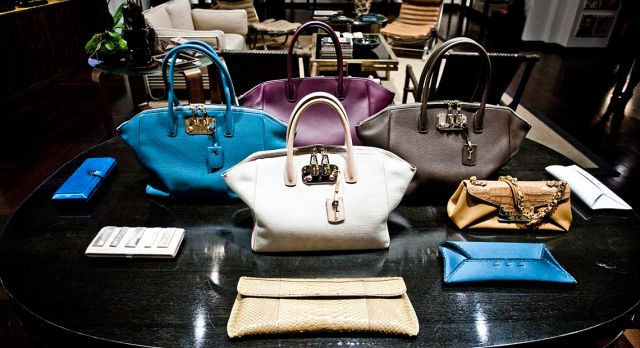 The secret Roman showroom of luxury handbag maker VBH