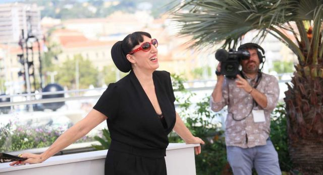 Rossy de Palma photographed in Cannes at the screening of Julieta. Photo: Denis Makarenko/Shutterstock