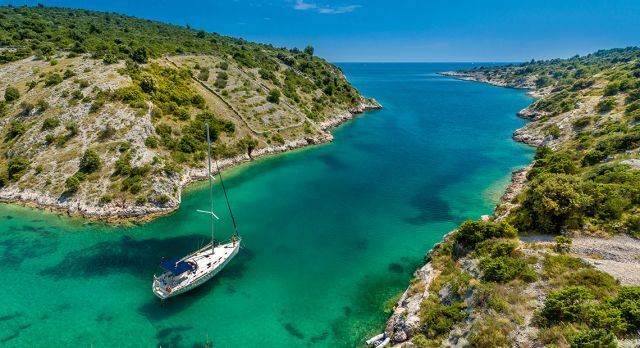 Trogir is an ideal starting point from which to visit some of Croatia's 718 islands, only 47 of which are inhabitated