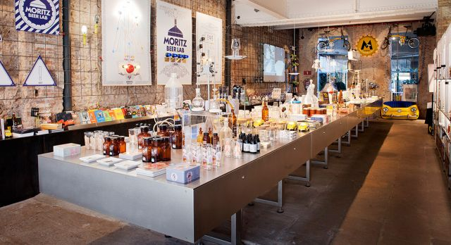Tapas bar and design store Moritz. Photo: Moritz Barcelona