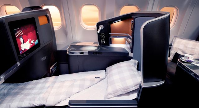 With SAS new service you can bid for a travel class upgrade.