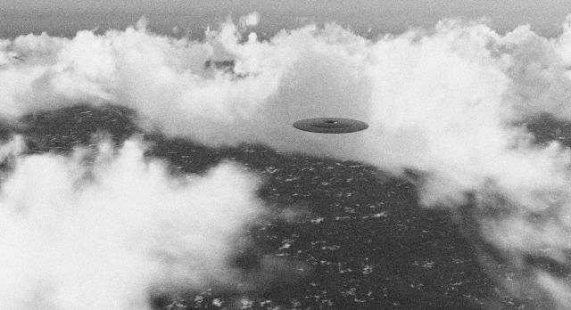 Maybe the UFO that the SAS crews saw looked like this? Photo: Shutterstock