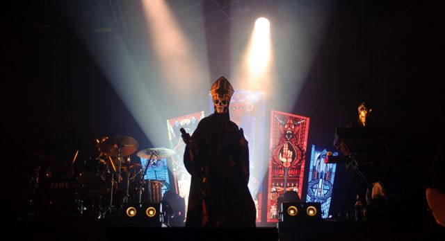Papa Emeritus III from Ghost won a Grammy last year. Photo: GettyImages