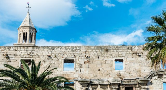 Visiting The Palace of Roman Emperor Diocletian is a must when in Split. Photo: Mauro Rongione