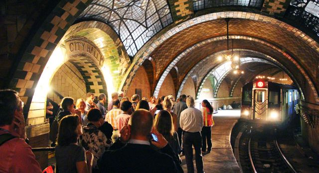 Visiting a subway station is a chance to experience history, up close and personal.