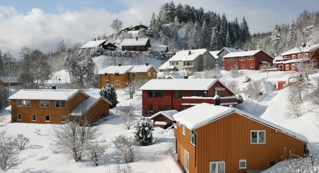 Beautiful Trondheim in winter. Photo: Shutterstock