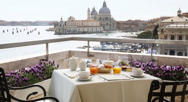 The Terrazza Daneieli at the Hotel Danieli