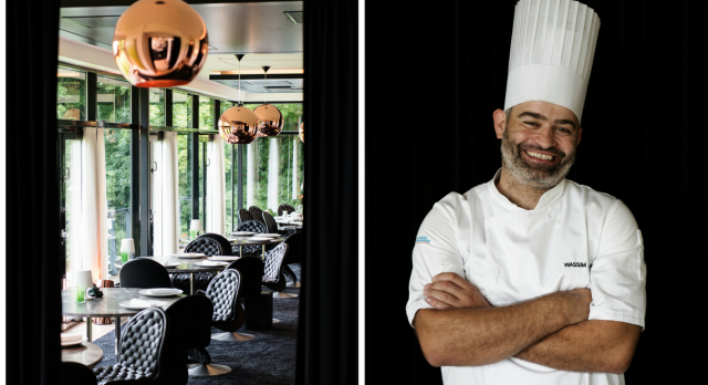 Michelin chef Wassim Hallal at Frederikshøj.Photo: Benjamin Lund Nielsen