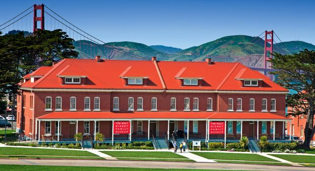The Walt Disney Family Museum in San Francisco.