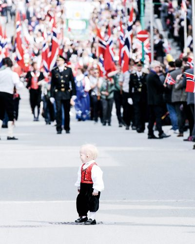 Norway is the only country in the world that organizes children's parades on its national day. Photo: Shutterstock