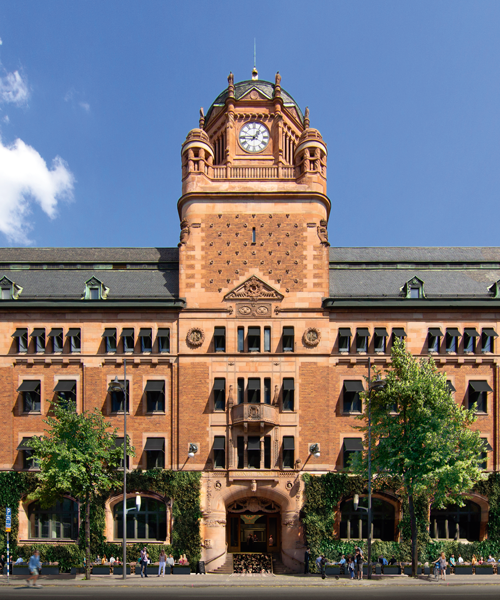 Stockholm's Central Post Office where 7A has taken over 17 000 sqm.