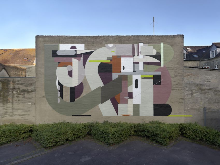 Mural by Russian painter Alexey Luka. Photo: Allan Toft