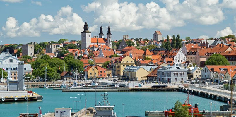 City view of Visby on the swedish island Gotland where Almedalen is held. Photo: Shutterstock