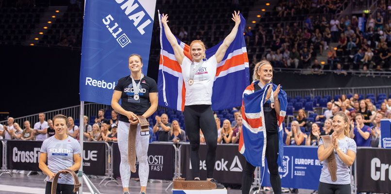 Thorisdottir fought her way back from injury to return to the top of the podium last year.