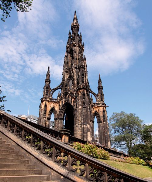 The Scott Monument Photo: Shutterstock