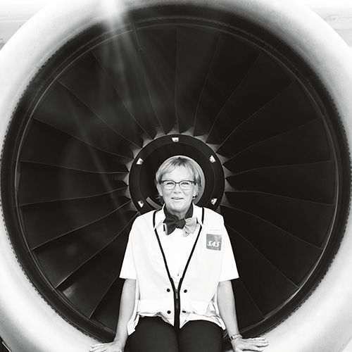 The flight attendant who became an airline captain